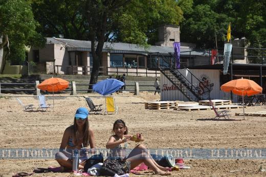 Se inauguró la temporada de playas