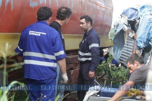 Descarriló el tren en Santa Rosa de Lima