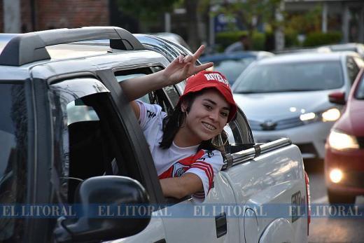 River Plate Campeón Copa Libertadores de América: festejos en Santa Fe