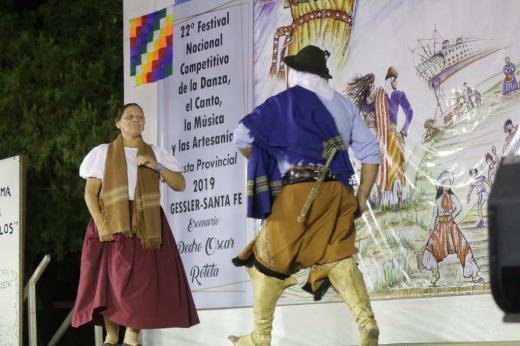 Gessler, 22° Festival Nacional Competitivo de la Danza: segunda noche