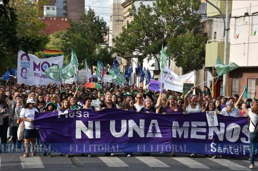 #8M: marcha en Santa Fe