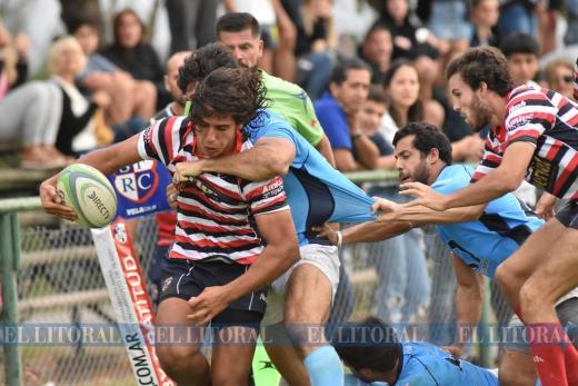 Rugby: Santa Fe perdió con Rowing