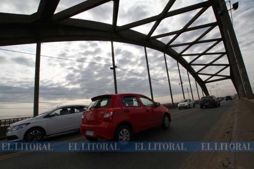 El puente carretero en fotos hoy