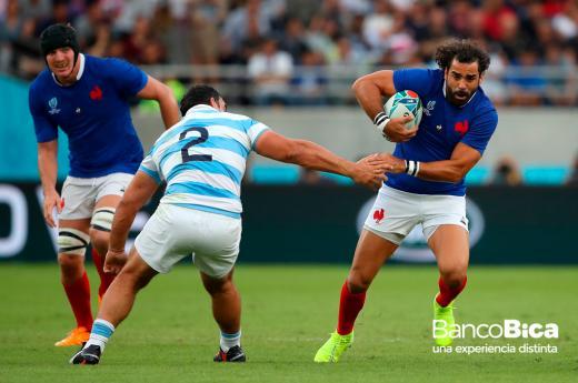 Francia x Argentina - Mundial de Rugby