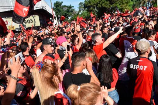 El fan fest de Colón en el Centenario