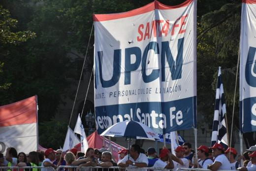 Jura de Ministros en la Plaza de Mayo y traspaso de atributos
