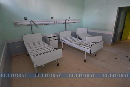 Comienza operativo para instalar camas en el viejo Hospital Iturraspe