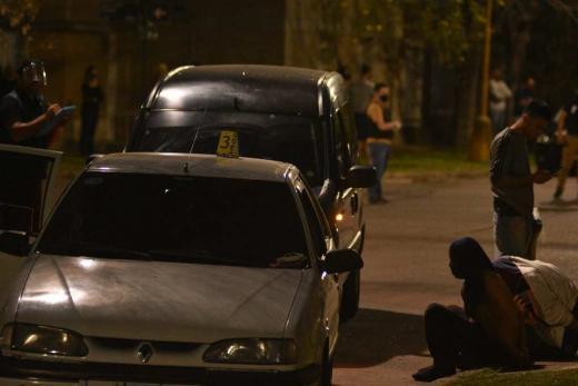 Persecución y tiros con banda de estafadores en barrio Guadalupe
