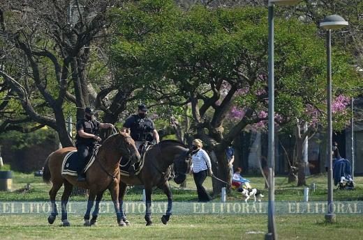 Controles policiales en el Día de la Primavera