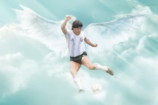 Los ilustradores rinden homenaje a Maradona