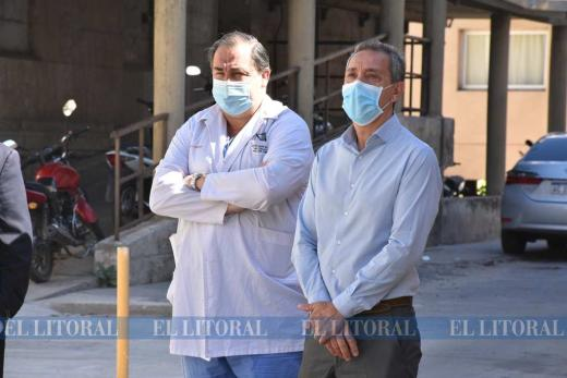 Llegaro 400 vacunas nuevas hospital cullen