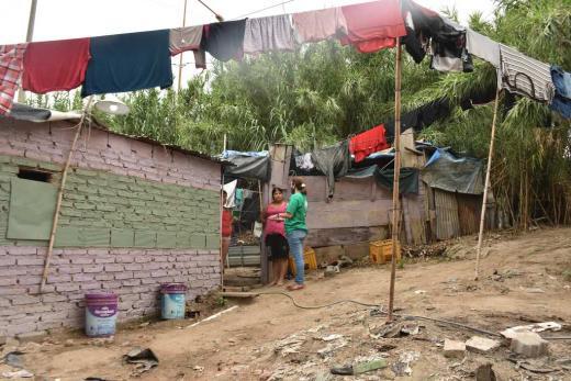 Relevan los ranchos de Los Alisos en barrio El Pozo