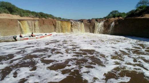 Las fotos de la cascada del arroyo Colastiné