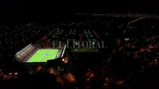 Colón-Arsenal, desde el aire