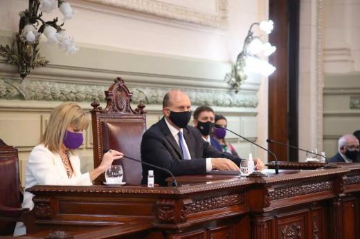 Las fotos del inicio del año Legislativo