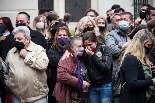 Las imágenes de la despedida a Miguel Lifschitz en Rosario