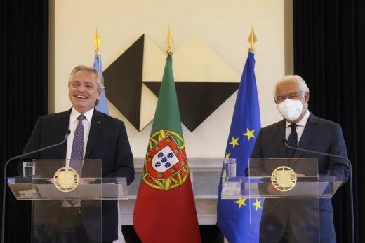 Las imágenes que deja la gira del Presidente Alberto Fernández