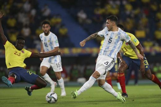 Las fotos de Colombia vs. Argentina