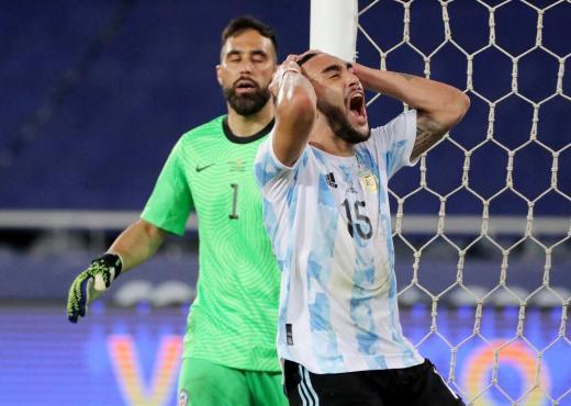 Copa América: las fotos de Argentina Chile