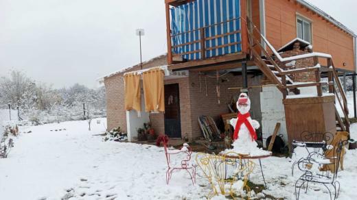 Nevó en Córdoba, mirá las fotos mas curiosas