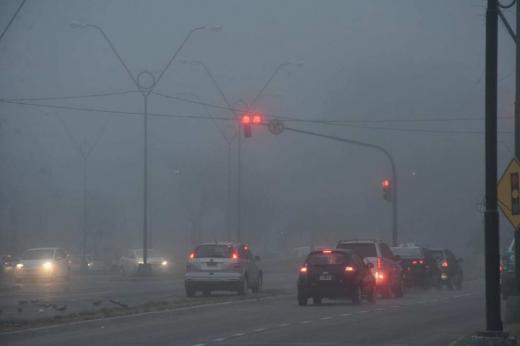 Las fotos de la niebla que invadió la ciudad
