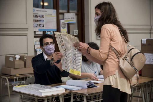 Elecciones Paso: Rosario vota, mirá las fotos