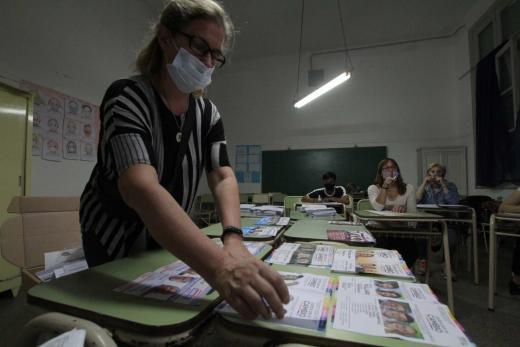 Elecciones Paso: las fotos del escrutinio