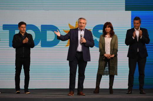 Elecciones Paso: En fotos, derrota oficialista y triunfo opositor en Bs. As.