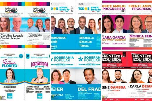 Boletas Elecciones Legislativas 2021