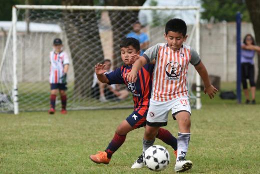 Primera jornada del Lasallanito de fútbol infantil