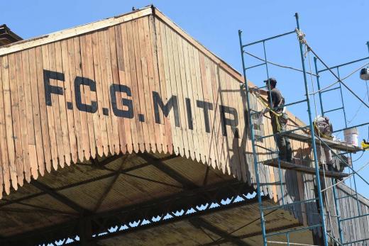 Restauración estación Mitre: mirá las fotos