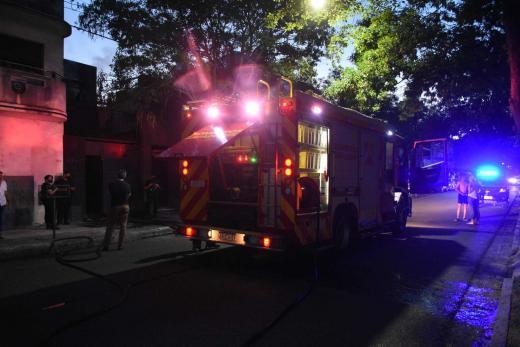 Santa Fe. Incendio en un departamento de Moreno y Francia
