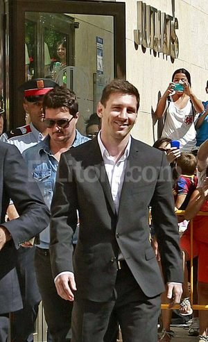 Lionel Messi. Crédito: EFE