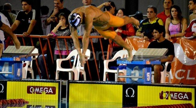 Santiago Grassi, nadador del Club Atlético Unión de Santa Fe <strong>Foto:</strong> gentileza registromarca.com