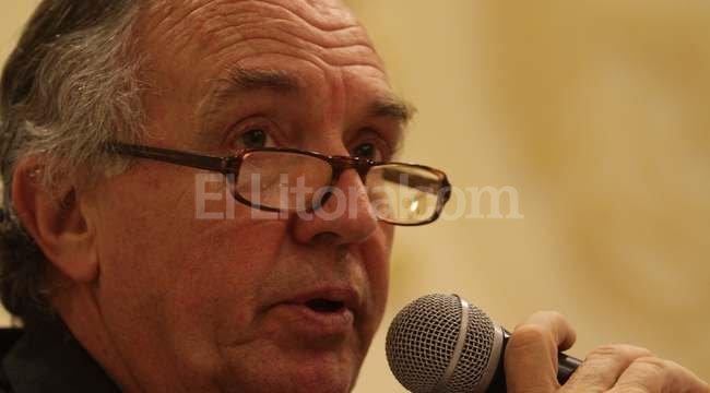 Olegario Tejedor, presidente de la Bolsa de Comercio de Santa Fe Crédito: El Litoral