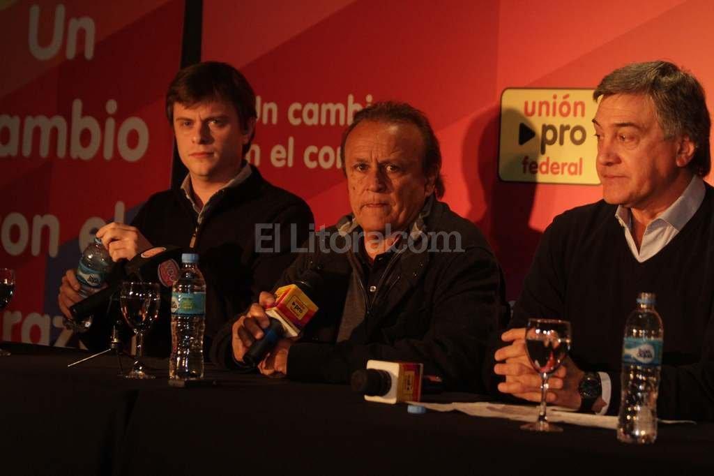 Del Sel brindó esta mañana una conferencia de prensa en Santa Fe. <strong>Foto:</strong> Guillermo Di Salvatore