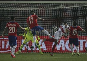 Chile llegó a la final de Copa América tras vencer a Perú
