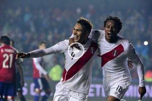 Perú superó a Paraguay y se quedó con el tercer puesto