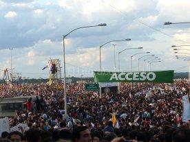 Paraguay despidió con una sonrisa al Papa Francisco