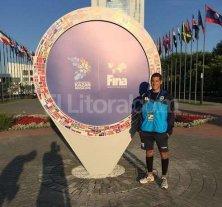 Grassi debuta en el Mundial de nataci�n - El santafesino disputar� la eliminatoria de los 50 metros mariposa en Rusia. -