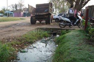 Vecinal Oeste reclama por falta de desagües y limpieza