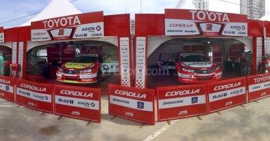 Super TC 2000: panorámicas de los boxes de cada equipo