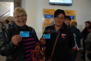 Más de 1.600 santafesinos ya tienen su tarjeta Sube