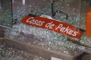 Adolescentes detenidos por vandalismo en la Recoleta