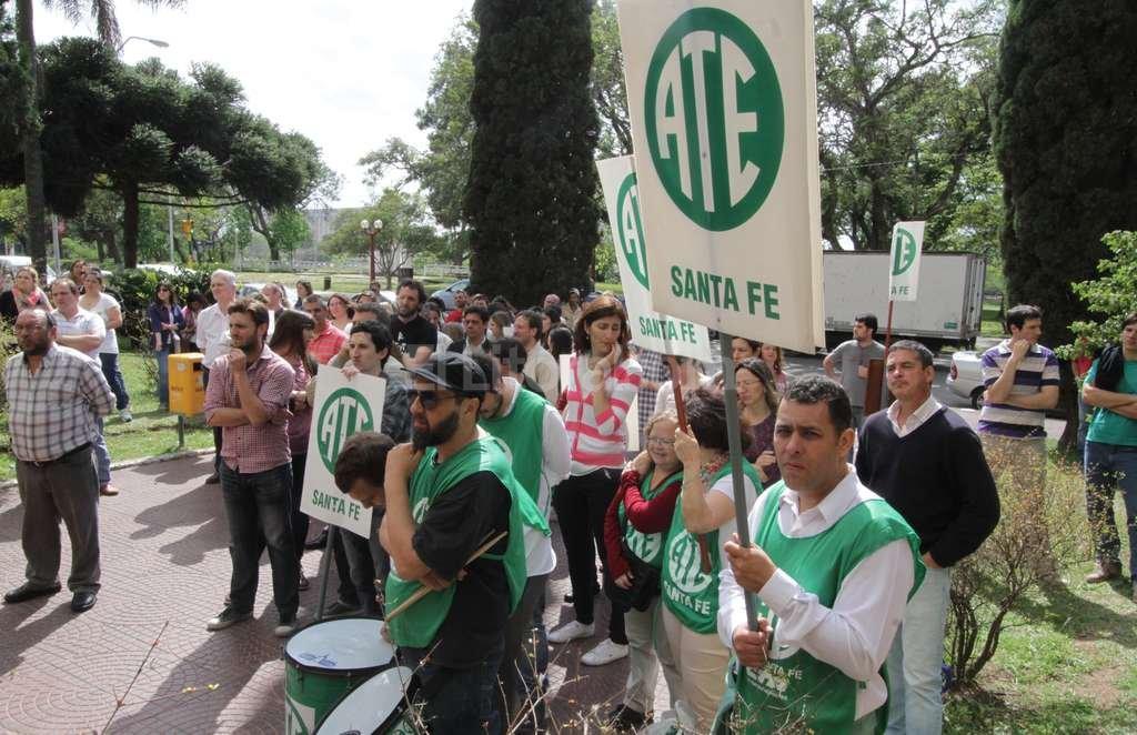 Los agentes también se quejaron por los bajos sueldos que abona ese ministerio. Crédito: Guillermo Di Salvatore