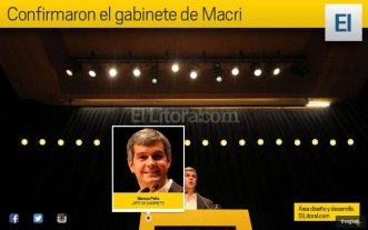 Infograf�a: conoc� el gabinete de Macri -  -
