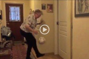 Video: la sorprendente abuela que hace jueguitos