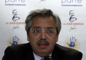 Alberto Fernández propone la unidad del peronismo para enfrentar a Cambiemos