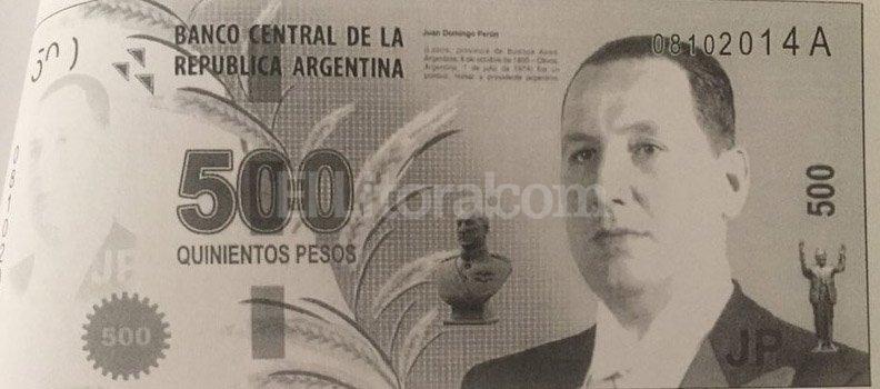 Los billetes que mostró Vanoli Captura Twitter @VanoliAlejandro
