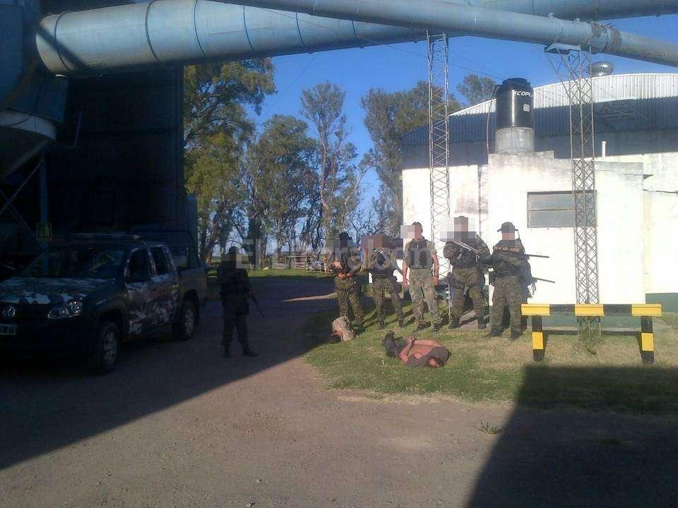 """""""Siento un gran orgullo por la compañía TOE y por la Policía de la provincia"""", dijo uno de los involucrados en el procedimiento. <strong>Foto:</strong> El Litoral"""